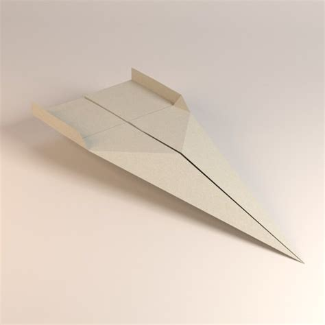 Origami Model Airplanes - paper plane 3d model