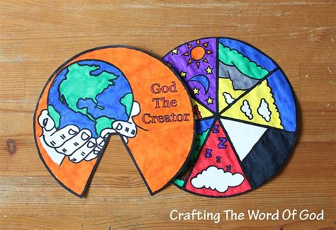 creation craft for days of creation wheel 171 crafting the word of god