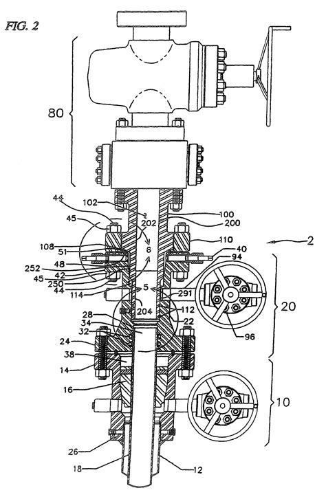b section wellhead patent us8272433 wellhead isolation tool and wellhead
