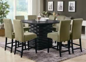 modern green dining room table set plushemisphere