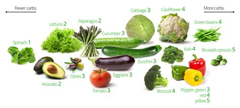 vegetables no carbs low carb vegetables the best and the worst diet doctor