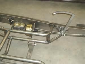 Rod Brake System Design Rod Frame Mount Brake Clutch Pedals
