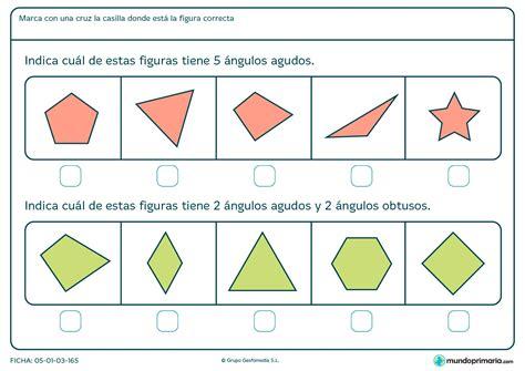 figuras geometricas angulos ficha de 225 ngulos obtusos para primaria