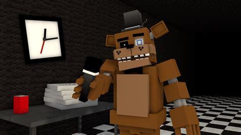 Pdf Five Nights At Minecraft by Minecraft Five Nights At Freddy S 01 O Novo Vigia