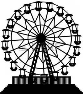 Vintage ferris wheel silhouette 1000 images about ferris wheel quilt