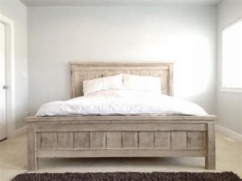 Farmhouse Bed Frame 17 Best Ideas About White Beds On Pinterest Diy King Bed Frame Farmhouse Bed Frames And