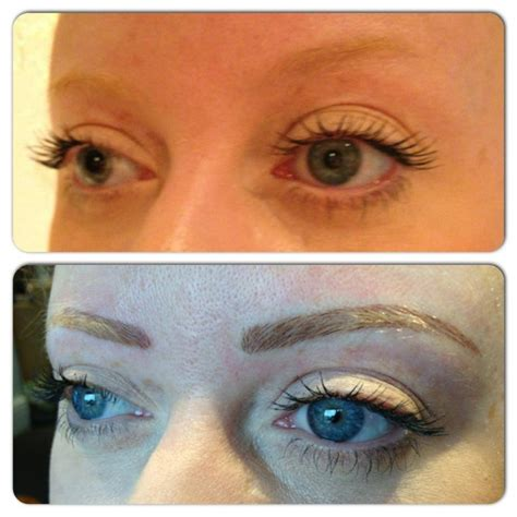 tattoo eyebrows on blondes eyebrow tattoo review rachael divers makeup artistry