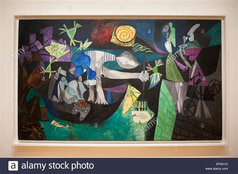 picasso paintings in moma nigth fishing at antibes 1939 painting by pablo picasso
