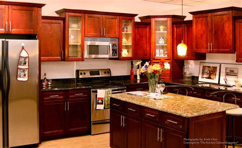 cherry wood kitchen cabinets alkamedia