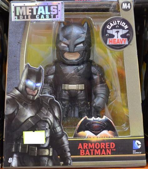 metal die cast m4 dc comic armored batman figure