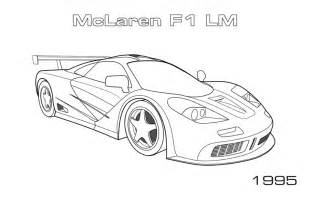 crayola free coloring pages cars trucks other vehicles car coloring pages mclaren coloringstar