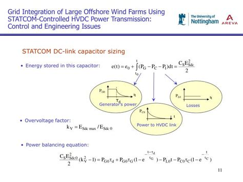 capacitor sizing dilemmas ppt grid integration of large offshore wind farms using statcom controlled hvdc power