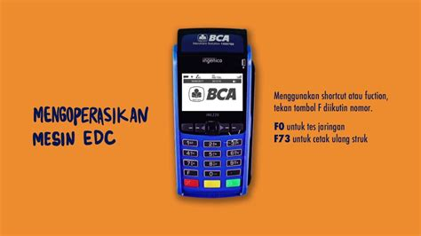 Mesin Edc Bca tutorial pengoperasian edc bca