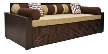 shine sofa bed in brown colour by hometown shine sofa bed