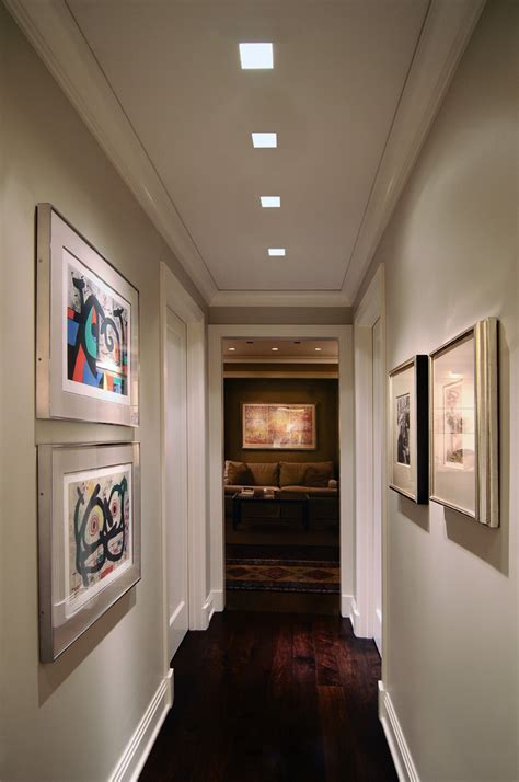 installation gallery hallway lighting