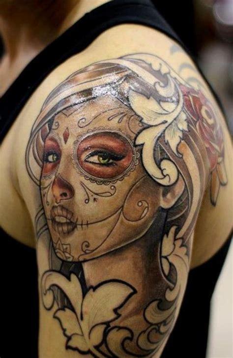 65 Eye Catching Brown Ink Tattoo Designs Brown Ink Fade