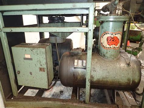 gardner denver 200esk037 air compressor 100 hp 02160140012
