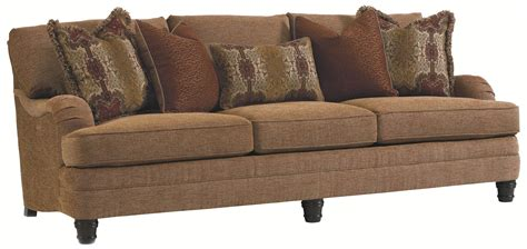 bernhardt tarleton sofa bernhardt tarleton traditional styled stationary sofa