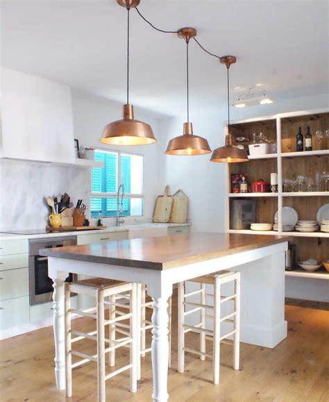 ideas  decorar la casa cocinas  lamparas estilo