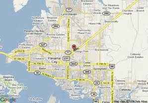 panama city florida on a map map of la quinta inn panama city panama city