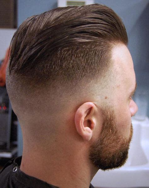 hair cut with a defined point in the back 25 amazing mens fade hairstyles part 22