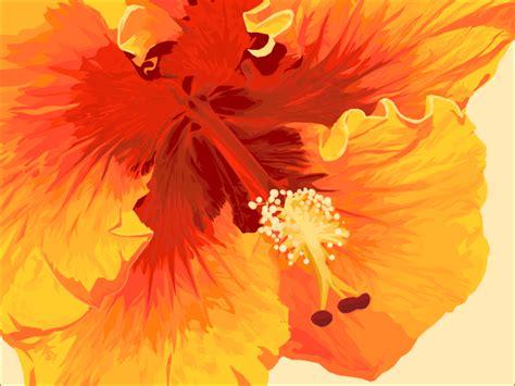 Hibicus Kuning Sembur 1 pendidikan seni visual gubahan warna