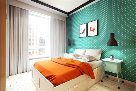 sunny apartments  quirky design elements