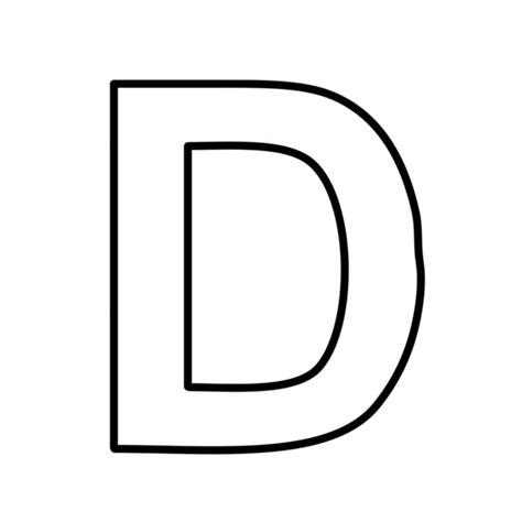 lettere d lettere e numeri lettera d statello maiuscolo