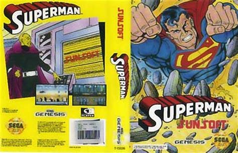 sega genesis superman superman homepage