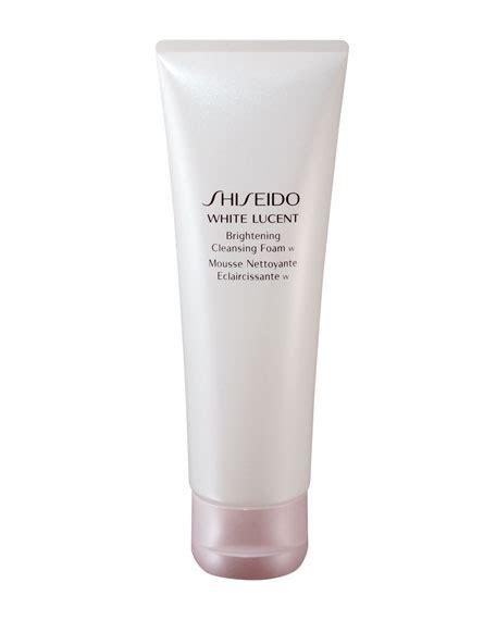 White Screat Brightening Cleanser Shiseido White Lucent Brightening Cleansing Foam 4 7 Oz