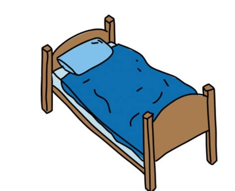 bett schlafen schlafen im bett clipart collection