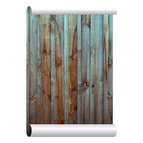 stick something to wall self adhesive removable wallpaper wood fence wallpaper