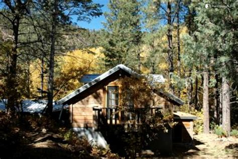 Cabin Home On The Hill by Log Cabin Rental Near Santa Fe New Mexico