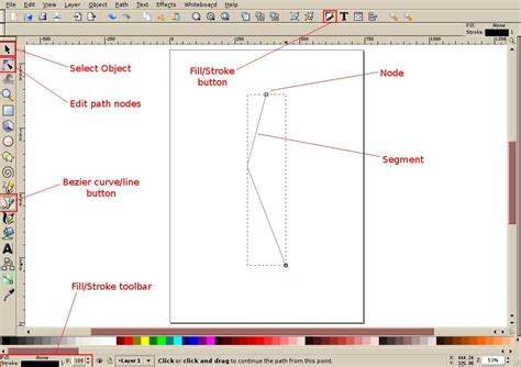 tutorial inkscape beginner inkscape tutorial creating a simple ribbon
