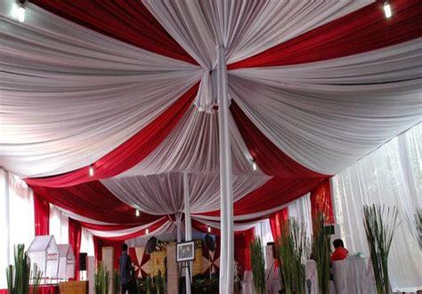 Dekorasi Wedding Plafon Serut sewa tenda di jakarta sewa tenda di kalideres semanan