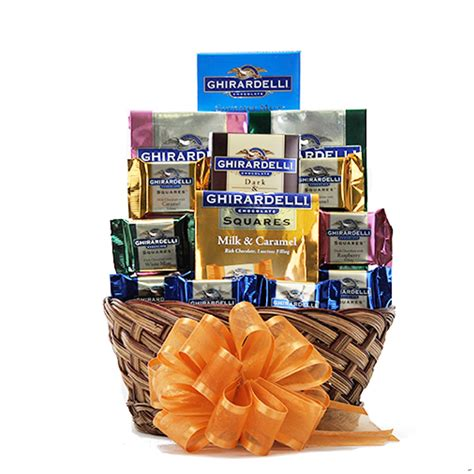 gift baskets free shipping ghirardelli chocolate gift basket free shipping usa only