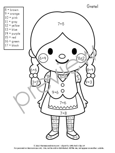 color by numbers addition coloring pages by number addition coloring pages