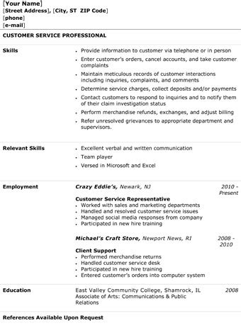 Hostess Resume Example by Customer Service Representative Resume The Resume