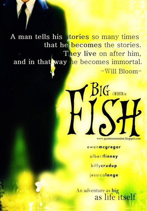 quotes film big fish big fish movie quotes quotesgram