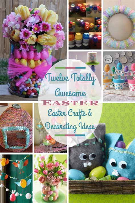 diy spring projects twelve easter crafts decorating ideas and diy fun