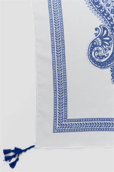 Square Tassel lilly square tassel scarf s