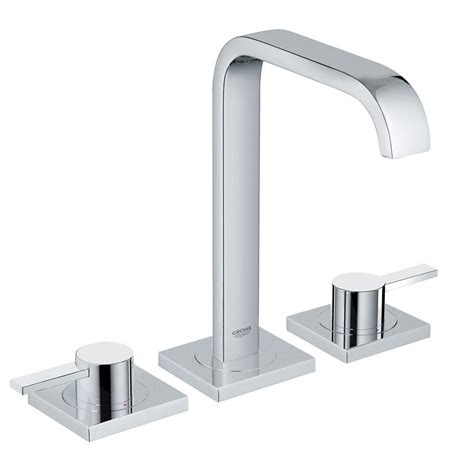 grohe bathtub faucets grohe 8 inch widespread sink faucets bathroom sink