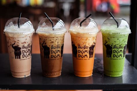 membuat thai tea dum dum feast it indonesia food and travel blogger dum dum