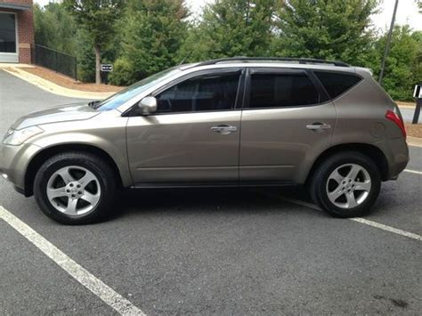 how to sell used cars 2004 nissan murano instrument cluster sell used 2004 nissan murano se sport utility 4 door 3 5l in alpharetta georgia united states