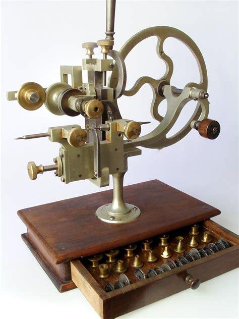 beautiful handwheel vintage watchmakers tools