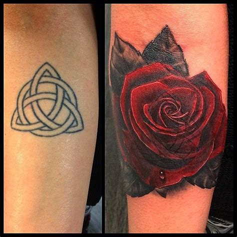 rose tattoo cover the 25 best lower back tattoos black hart images on