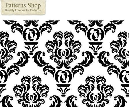 damask pattern cdr free damask vector free vector download 133 free vector