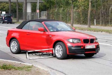 Bmw 1er Cabrio Lci by Neue Spyshots Zeigen Facelift F 252 Rs Bmw 1er Cabrio E88 Lci