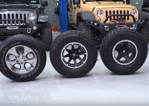 Jeep Stock Wheel Size Everything You Need To About Wrangler Wheels