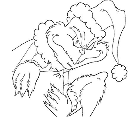 the grinch who stole christmas coloring pages az